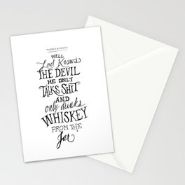The Devil In Mexico Stationery Cards