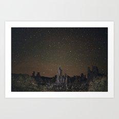 Kell watch the stars Art Print