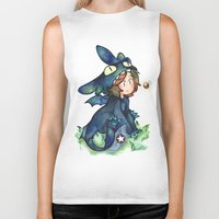 toothless Biker Tanks featuring toothless by cynamon