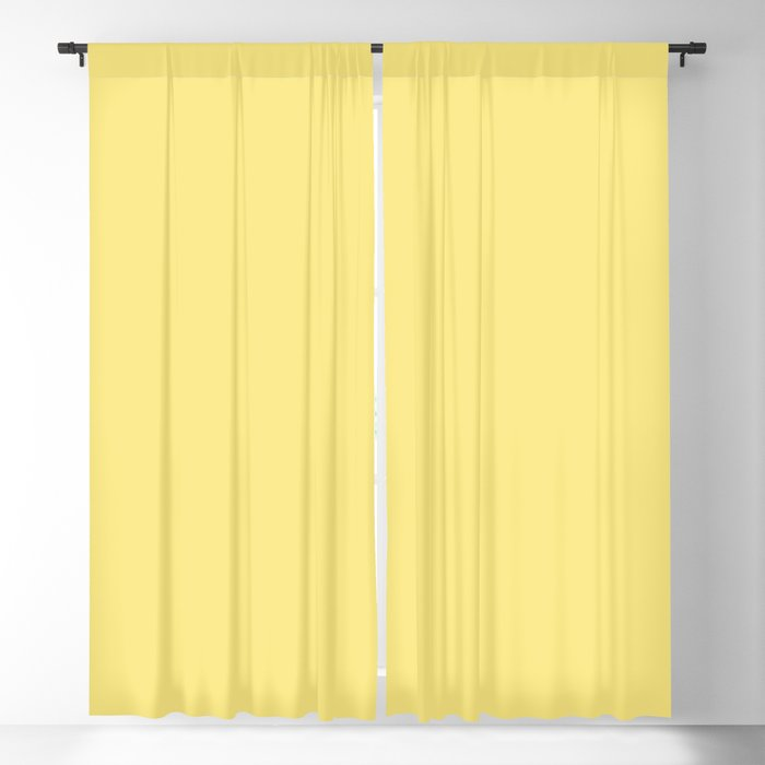 From The Crayon Box – Yellow Solid Color Blackout Curtain