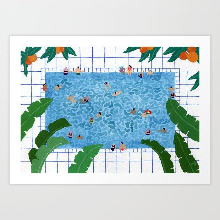 Oranjepool Art Print