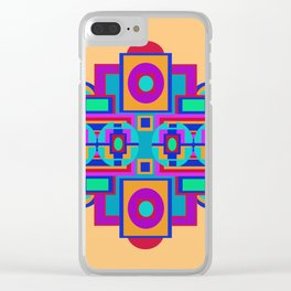 PATTERN 3 Clear iPhone Case