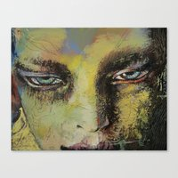 shiva Canvas Prints featuring Shiva by Michael Creese
