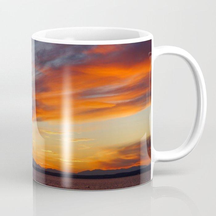 marvelous sunset over the sea Coffee Mug