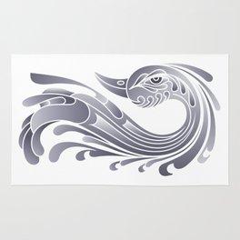 Swan Bird Rug
