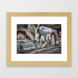 Calico Framed Art Print