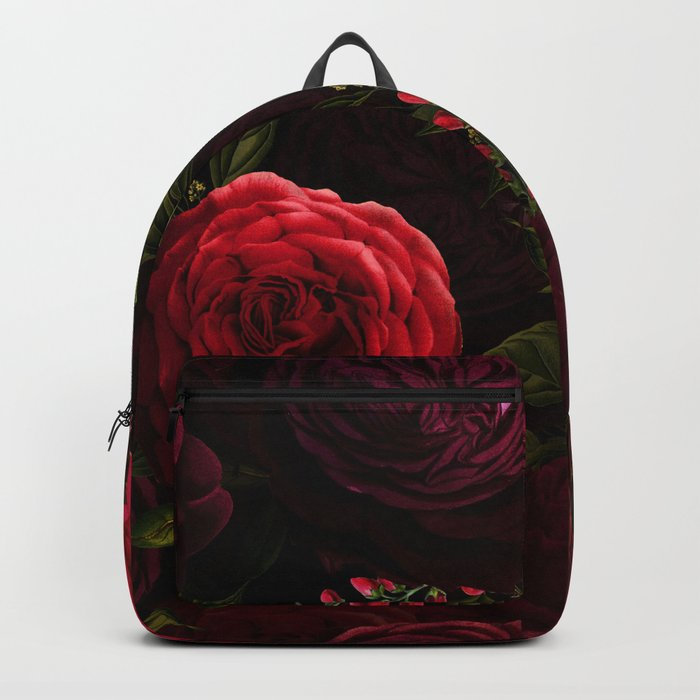 Mystical Night Roses Rucksack