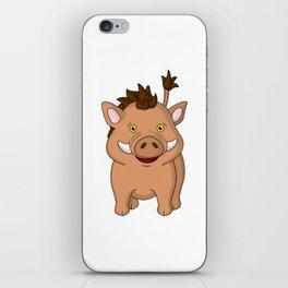 Wee Warthog iPhone Skin