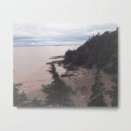 Bay of Fundy Metal Print