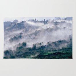 Foggy Mountain of Vietnam Rug