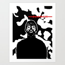 BLANCH DARKSIDE Art Print