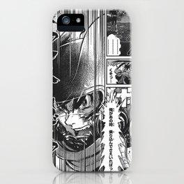 Manga 03 iPhone Case
