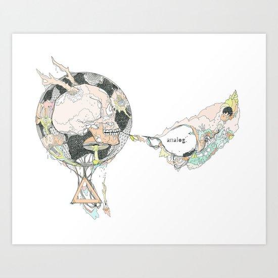 ANALOG (mod)  ZINE  Art Print