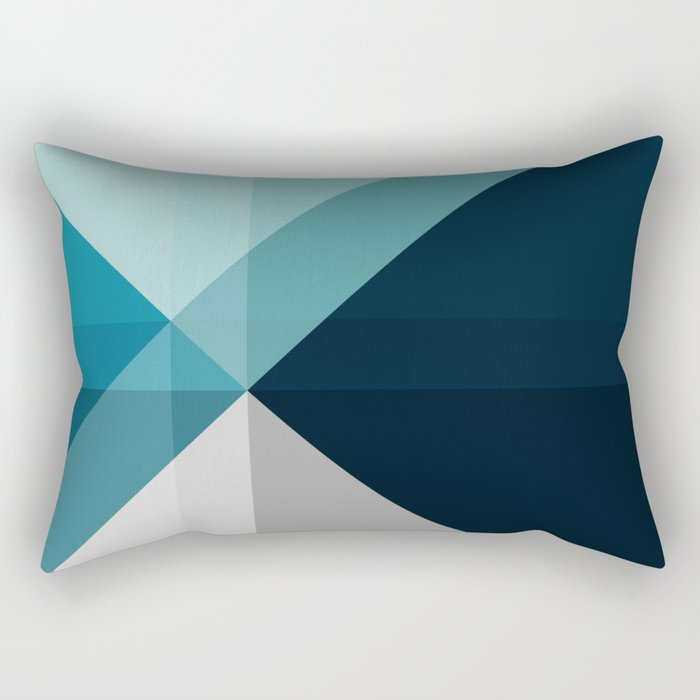 Geometric 1704 Rectangular Pillow