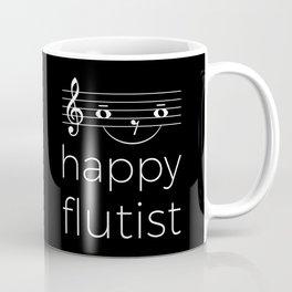 Happy flutist (dark colors) Coffee Mug