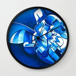 #22 – dipinto di blu… Wall Clock