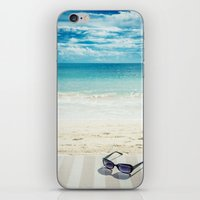 holiday iPhone & iPod Skins featuring Holiday by Joyce Vincent