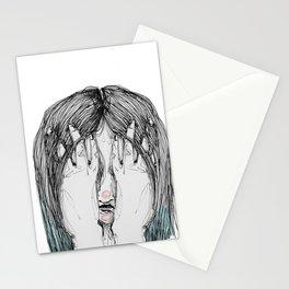 Sometimes I'm sad Stationery Cards