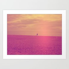Porto Beach Art Print
