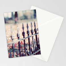 Autumn Fence Stationery Cards