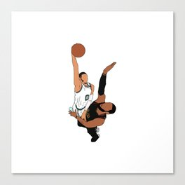Jayson Tatum Canvas Print