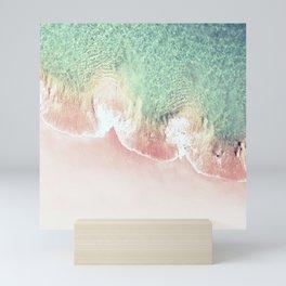 Scalloped Coral Beach And Seashore Mini Art Print