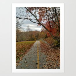 Let your nature lead the way Art Print