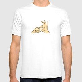 LOVE sign language T-shirt