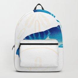 Blue lobster design Backpack