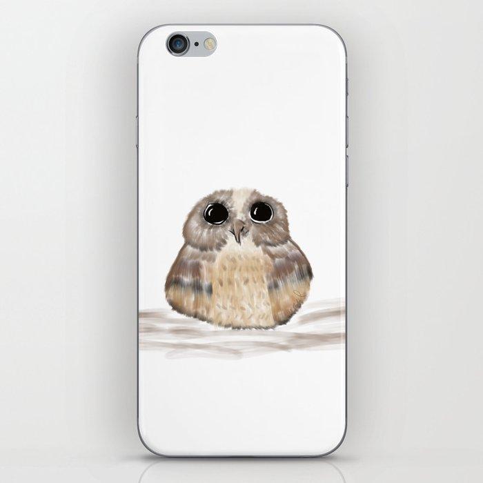 Sweet owl iPhone Skin