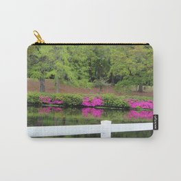 Beauty By The White Fence Carry-All Pouch
