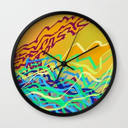 Coastal Frequencies 2 Wall Clock