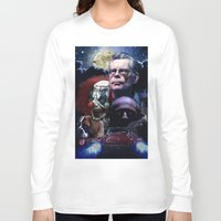 stephen king Long Sleeve T-shirts featuring Stephen King by Saint Genesis