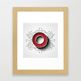The Letter O Framed Art Print