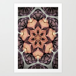 Clams Art Print