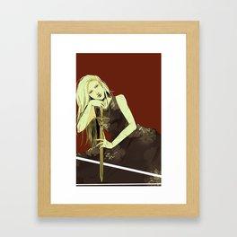 Emma Carstairs Framed Art Print