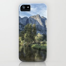 Yosemite Falls from Cook's Meadow iPhone Case