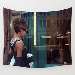 Audrey Hepburn #2 @ Breakfast at Tiffany's Wall Tapestry