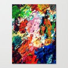 Palette Canvas Print