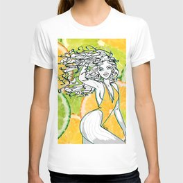 Afrolatina lemonade T-shirt