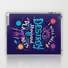 A Thousand Planets Laptop & iPad Skin