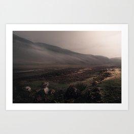 Highland Mist Art Print