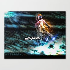 Mj Robo Cop Canvas Print