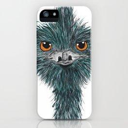 Derek the Emu iPhone Case