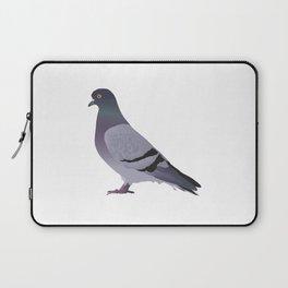 Side View Pigeon Laptop Sleeve