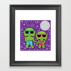 Black Lagoon Boogie Framed Art Print
