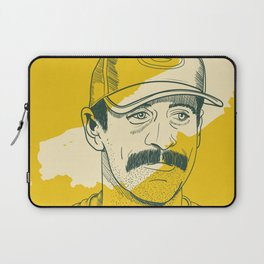 Mustachioed GOAT Laptop Sleeve