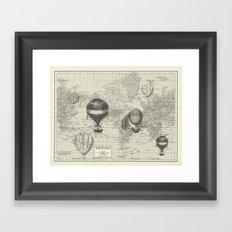 An Incredible Adventure Framed Art Print