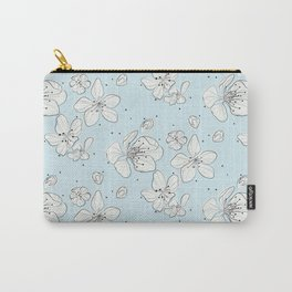Cherry blossom flowers Carry-All Pouch