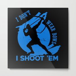 Archery Archer Metal Print